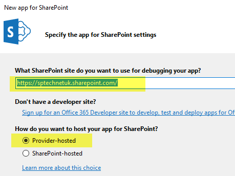 Provider Hosted App For SharePoint Online – RAVICHANDRAN BLOG