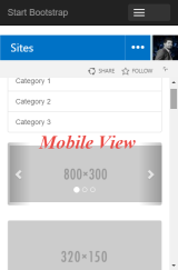 SharePoint Mobile page view