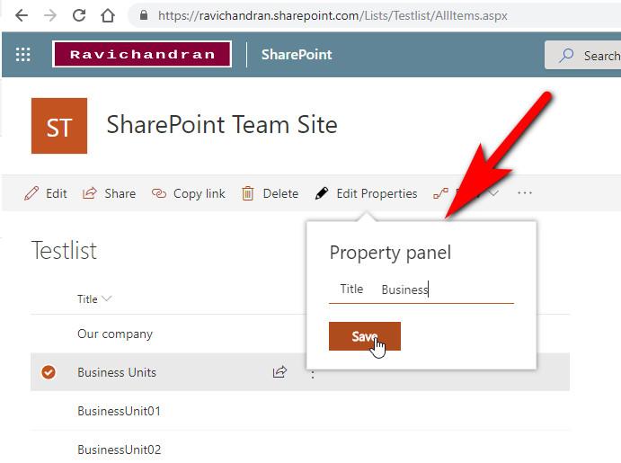 RAVICHANDRAN BLOG – SharePoint Development Knowledge & Updates